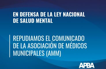 En defensa de la Ley Nacional de Salud Mental